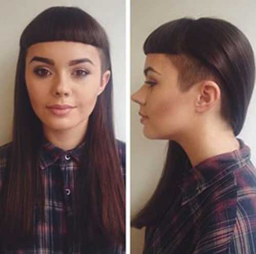 Hairstyles with pony 2017-24