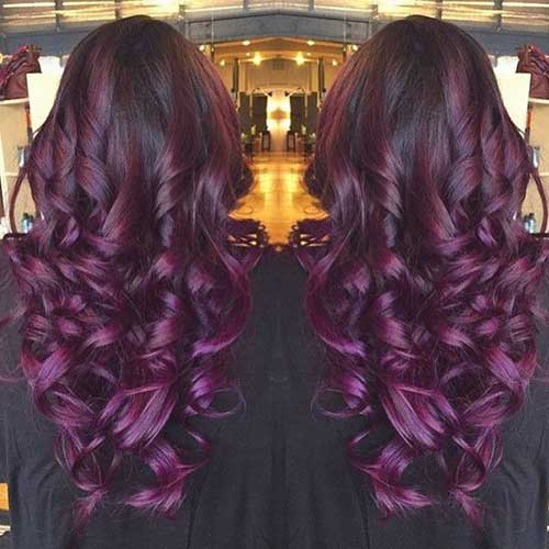 Dark Purple Hair Ideas