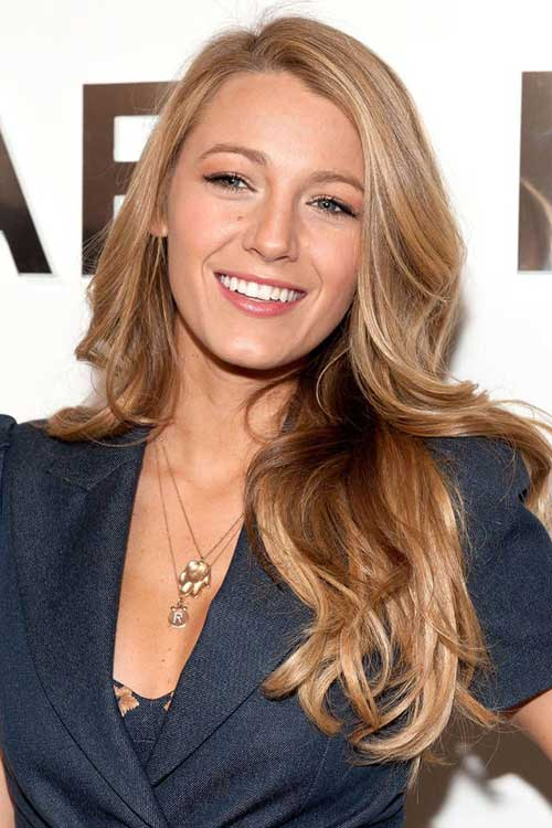 Classy long blonde hairstyles