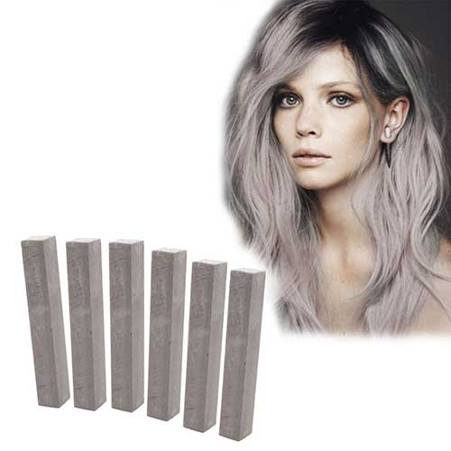 Silver-gray hairstyles