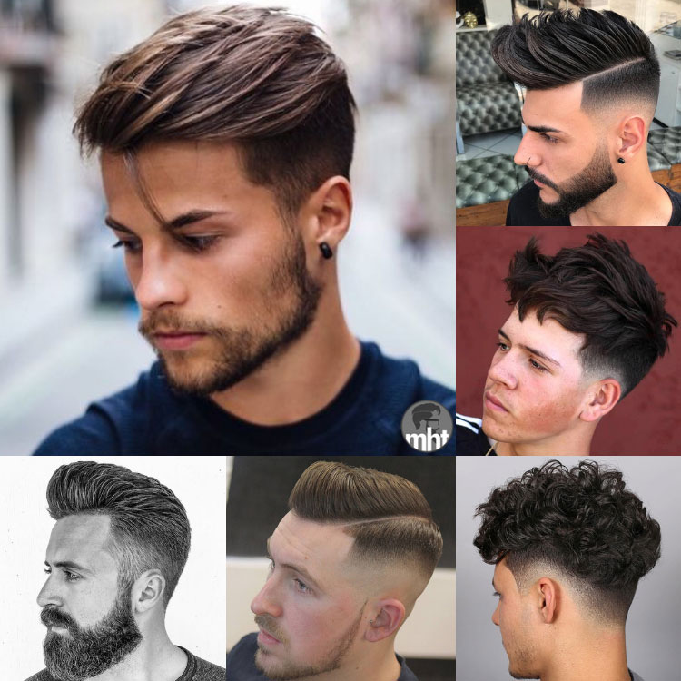 Short sides Long lace hairstyles