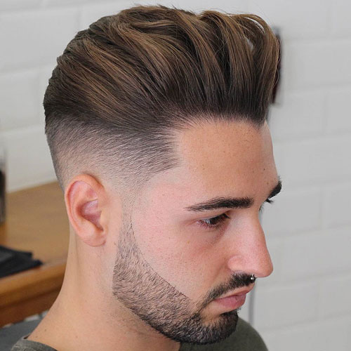 Fuckboi Hairstyles - Taper Fade + Thick Backed Hair