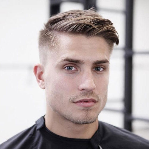 Best comb over faded haircuts