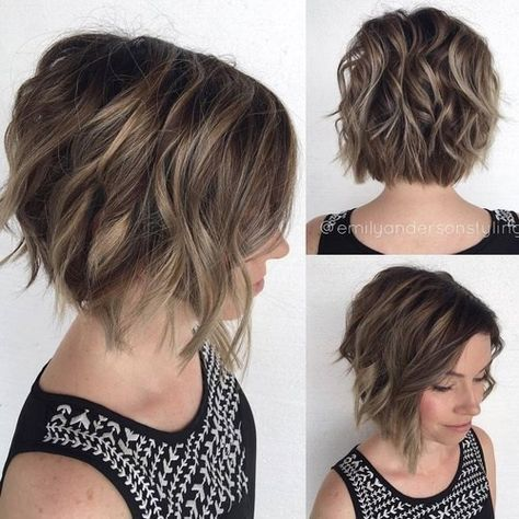Stylish, messy hairstyles for short hair - short haircut haircut ideas