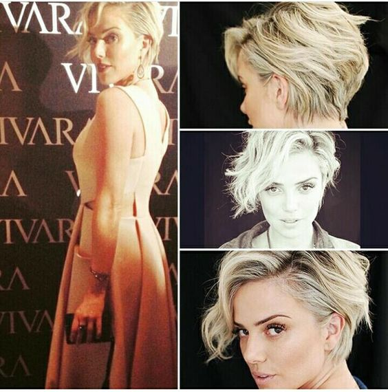 Stylish Messy Hairstyles for Short Hair - Women's Short Haircut