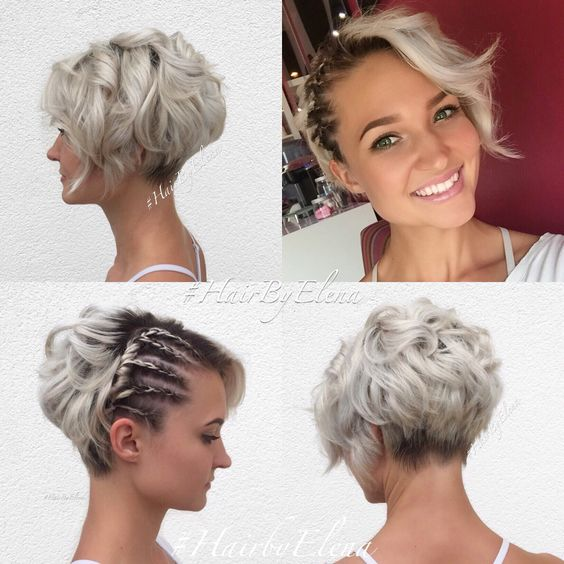 Stylish Messy Hairstyles for Short Hair - Women - Short Hairstyle Ideas