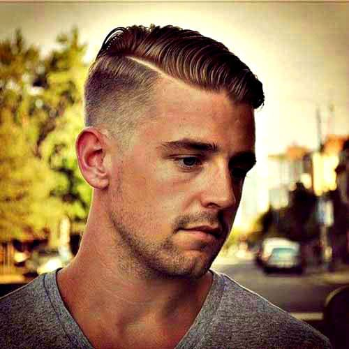 Best comb over the fade hairstyles for men