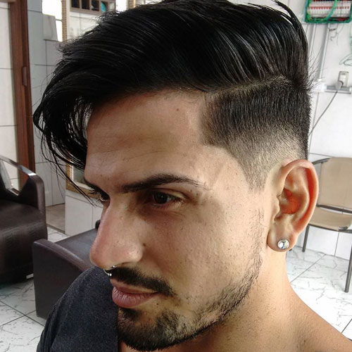 Low Fade Comb Over
