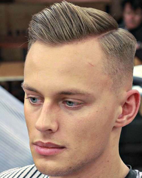 Cool Men's Short Hair Cuts - Short sides with a hard side