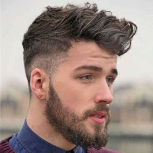 Cool Hairstyles [1965905] 5] Classic Taper Cut + Thick, Brushed Hair </ span> </ h2> </p> <p> <img class =