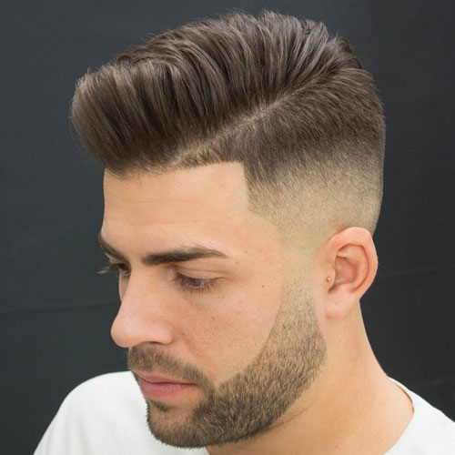 Pomp fade with side panel