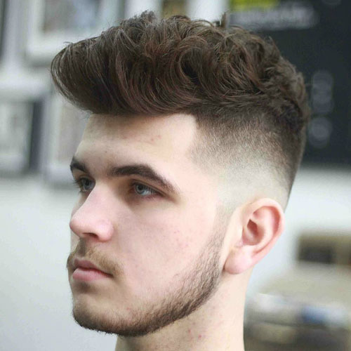 Low Kahlzustand Fade with Quiff