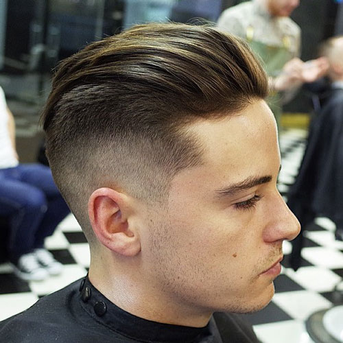 How To Styling The Slicked Back Undercut